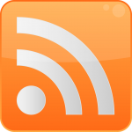 Rss logo in orange