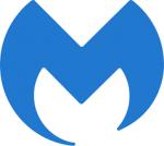 M shaped logo for malwarebytes